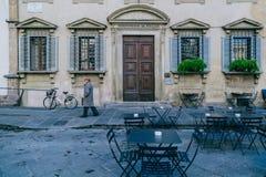Тихая улица в Италии Стоковая Фотография