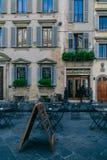 Тихая улица в Италии Стоковое фото RF