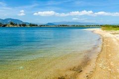 Тихий берег Стоковая Фотография RF