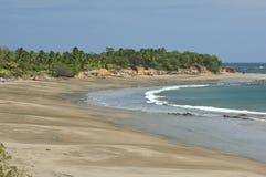Тихий океан пляж Стоковое Изображение