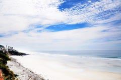 Тихий океан пляж с видом на океан Стоковые Фотографии RF