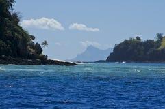 Тихий океан рай южный Стоковые Изображения RF