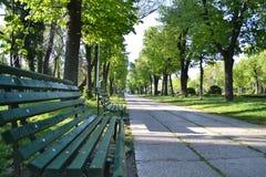 Тихий парк Стоковая Фотография RF