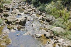 Тихий поток sanqingshan держателя, стоковые изображения rf