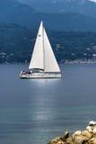тихий sailing стоковая фотография
