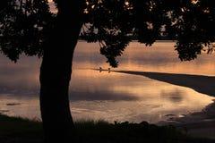Тихое время перед восходом солнца Стоковая Фотография