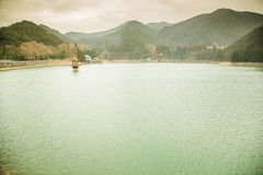 тихое озеро Стоковое Изображение RF