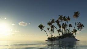 Тихое океан отступление Стоковое Фото
