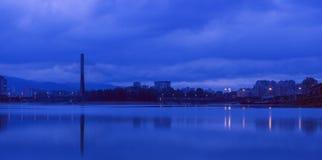 Тихое река Стоковое Изображение