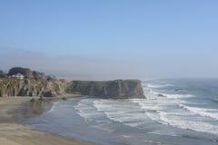 Тихоокеанское побережье в Калифорнии, США стоковое фото