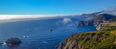 Тихоокеанское побережье, Калифорния Стоковое Фото