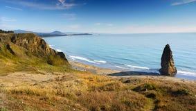 Тихоокеанское побережье скалы Орегона, моря Стоковое Изображение