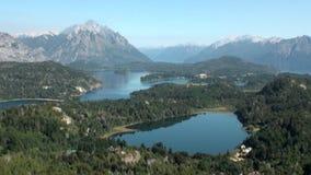 Тишь и затишье выставки озера гор мочат в Патагонии Аргентине видеоматериал