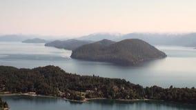 Тишь и затишье выставки озера гор мочат в Патагонии Аргентине акции видеоматериалы