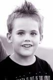 5-ти летний мальчик внешний Стоковые Изображения