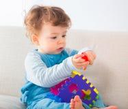 1-ти летний портрет ребёнка Стоковые Фотографии RF