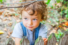 1-ти летний портрет ребёнка Стоковое фото RF