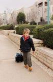 7-ти летний ребенок Стоковые Фото