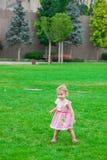 1-ти летний ребёнок внешний Стоковое фото RF