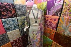 Ткани батика стоковая фотография rf