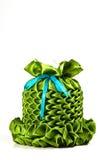 ткани коробки зеленые Стоковое Фото