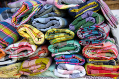 Ткани сплетенные рукой Стоковые Фото