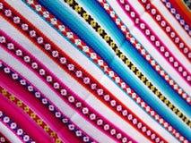 Ткани Южной Америки индийские сплетенные Стоковые Изображения RF