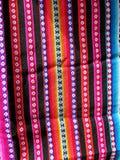 Ткани Южной Америки индийские сплетенные Стоковое фото RF