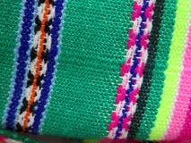 Ткани Южной Америки индийские сплетенные Стоковая Фотография