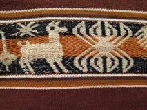 Ткани Южной Америки индийские сплетенные Стоковое Изображение RF