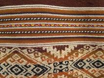 Ткани Южной Америки индийские сплетенные Стоковое Фото