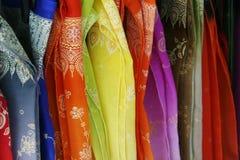 ткани silk Стоковое Фото