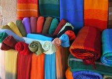 ткани varicolored Стоковые Изображения