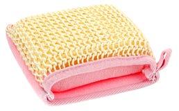 тканье губки ванны естественное Стоковые Фото