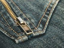 тканье джинсыов Стоковое Изображение