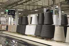 тканье машинного оборудования Стоковые Изображения RF
