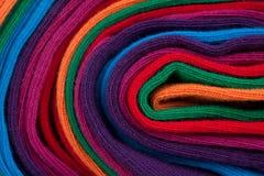 тканье ткани клубока цветастое Стоковое Изображение RF