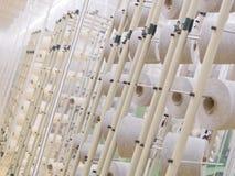 тканье фабрики Стоковое Изображение