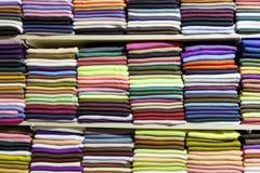 тканье шарфа предпосылки связанное крупным планом яркое Стоковое Изображение RF