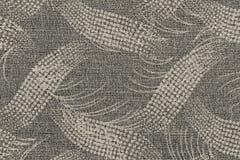 Ткань бежевого цвета с абстрактной картиной Стоковые Изображения