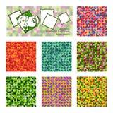 Ткань безшовное pattern-01 Стоковые Изображения RF