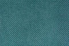 Ткань бирюзы с круглыми серыми включениями Стоковые Изображения