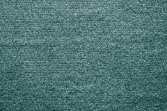 Ткань войлока текстуры зеленого голубого цвета Стоковое фото RF