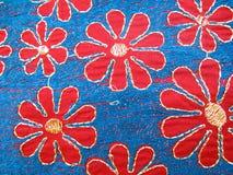 ткань вышивки Стоковые Изображения