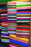 Ткань в простых цветах Стоковые Изображения