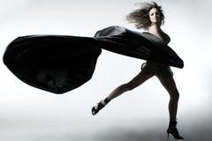 ткань девушки Стоковые Фотографии RF
