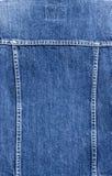 ткань джинсовой ткани Стоковая Фотография