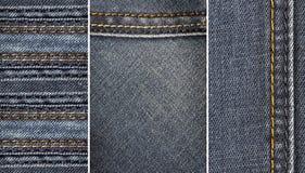 Ткань джинсов Стоковое Фото
