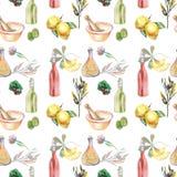 Ткань для кухни иллюстрация вектора