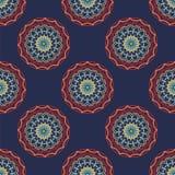 ткань делает по образцу безшовную текстуру Стоковые Фото